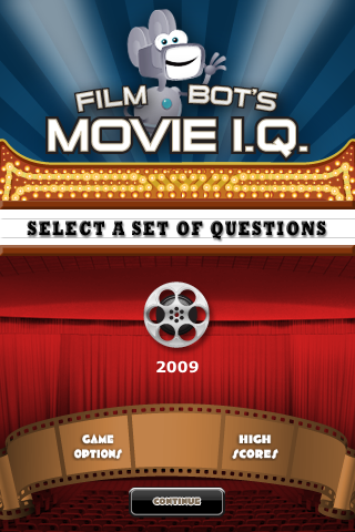 Screenshot 2009 – Film Bot's Movie I.Q. (FREE)