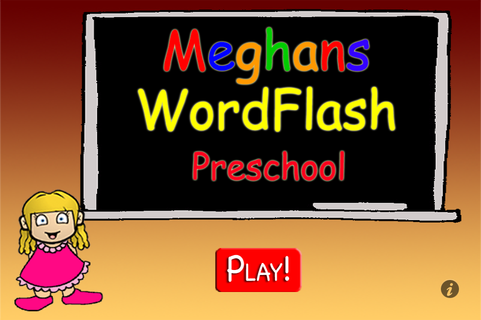 Screenshot Meghan's FlashCards Preschool