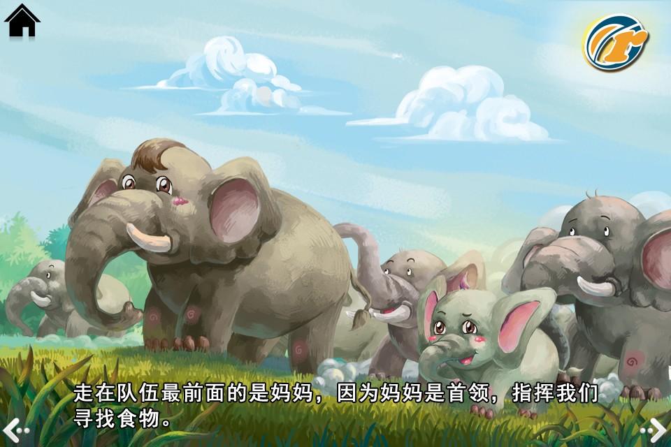 长鼻子大耳朵的大象 -by
